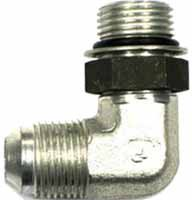 Hydraulic Fittings - 37° Flare - 90° ORB Elbow
