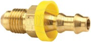 Push-On Hose Barb - Male 37° JIC
