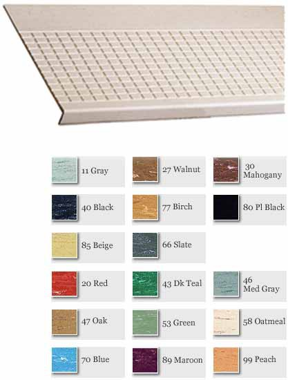 Rubber Rectangular Design Stair Treads 2150-0/500