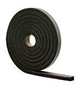 "Commercial Grade Neoprene Rubber Stripping 1"" Thick"
