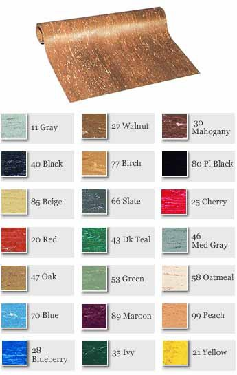 Smooth Sheet Rubber Flooring 500-L