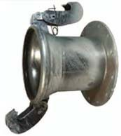 Type A Female with 150 ASA Flange with Gasket
