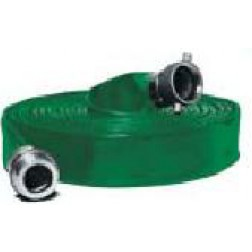 Water Discharge Hose - Contractors PVC Water Discharge Hose Green