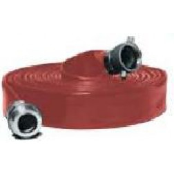 Water Discharge Hose - Heavy Duty PVC Water Discharge Hose Red HD