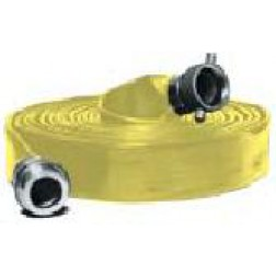 Water Discharge Hose - Extra Heavy Duty PVC Water Discharge Hose Yellow