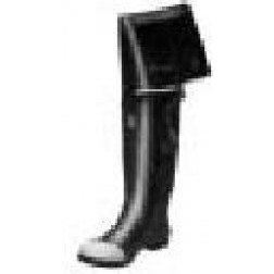 Plain Toe Hip Boots