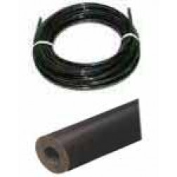 "Black Commerical Grade Neoprene Tubing-1/16"" Wall"