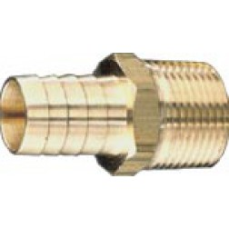 Brass Barbed Fittings - Male Inserts