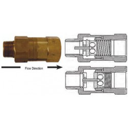 Air Fittings - Safety Check Valves