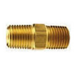 Hex Nipples Brass SAE130137
