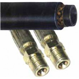 1-Wire Braid Hydraulic Hose - Male x Male NPT
