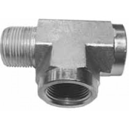 Hydraulic Fittings - Hydraulic Pipe Fittings - Male x Female Run Tees