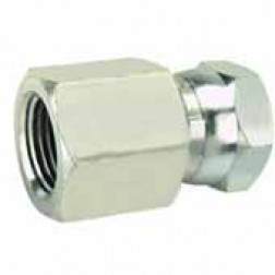 Hydraulic Fittings - Pipe Swivel Union Adapter  - Female x Female Swivel Nut