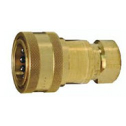 Hydraulic Fitting - Quick Connect  - Industrial - Poppet Valve Couplers