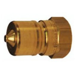 Hydraulic Fitting - Quick Connect  - Industrial - Poppet Valve Plugs