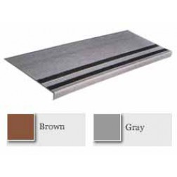 Koroseal Vinyl Grit-Strip Rib Design Stair Treads 2336-5/GS365