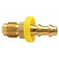 Push-On Hose Barb - Male 45° SAE