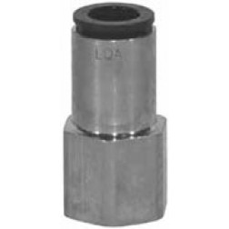 Metric Push-In Fittings - Female Connectors