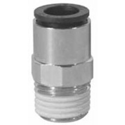 Metric Push-In Fittings - Male Connectors