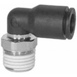 Metric Push-In Fittings - Male Swivel Elbows
