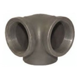 NPT Threaded Side Outlet Elbows 150# Iron