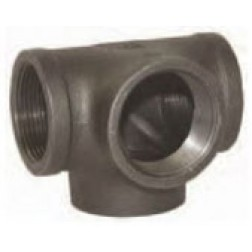 NPT Threaded Side Outlet Tees 150# Iron