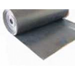 Open Cell Sponge Sheeting - Natural Rubber - Black Roll