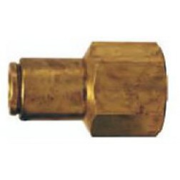 Brass Push-In Fittings - Female Connectors