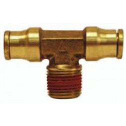 Brass Push-In Fittings - Male Branch Tees