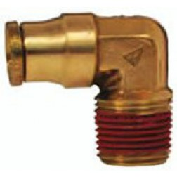 Brass Push-In Fittings - Male Elbows