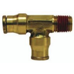 Brass Push-In Fittings - Male Run Tees