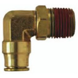Brass Push-In Fittings - Male Swivel Elbows