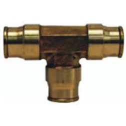 Brass Push-In Fittings - Union Tees