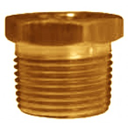 NPT Threaded Reducer Hex Bushings - Brass