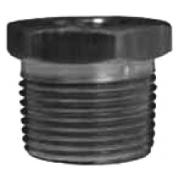 NPT Threaded Reducer Hex Bushings - Iron