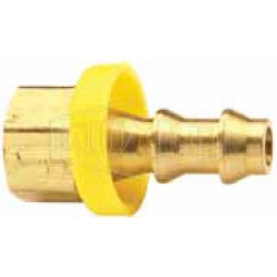 Push-On Hose Barb - Rigid Female SAE
