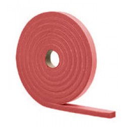 "Red SBR Sheet Packing, Cut/Slit to Size 1/32, 1/16, 3/32"" Thick"
