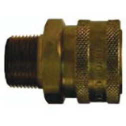Hydraulic Fittings - Quick Connect - Straight Through - Male Couplers