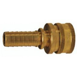 Hydraulic Fittings - Quick Connect - Straight Through - Standard Hose Barbs - Coupler
