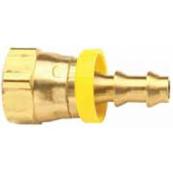Push-On Hose Barb - Female NSPM Swivel - Ball Seat Type