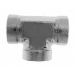 Hydraulic Fittings - Hydraulic Pipe Fittings - Female Pipe Tees