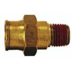 Brass Push-In Fittings - Male Connectors